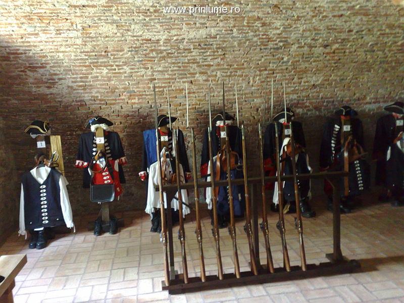 Cetatea Alba Carolina -uniforme